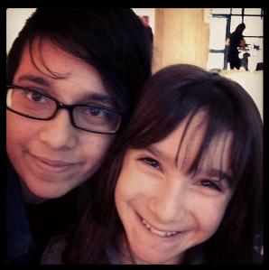 Hannah Alper and I